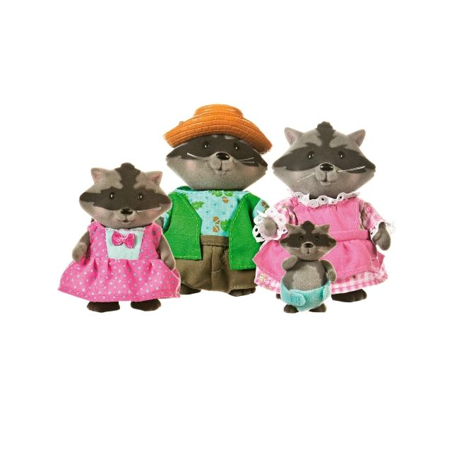CAMOMILLE DIGGADILLY RACCOONS FAMILY