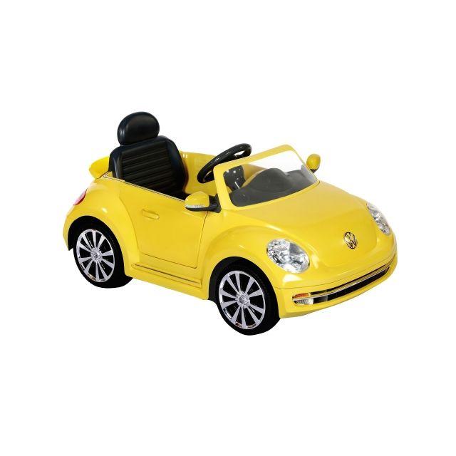 Vw Beetle Convertible, 12v, Yellow