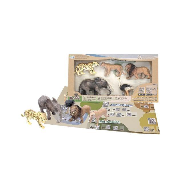 AFRICAN ELEPHANT SET & APP