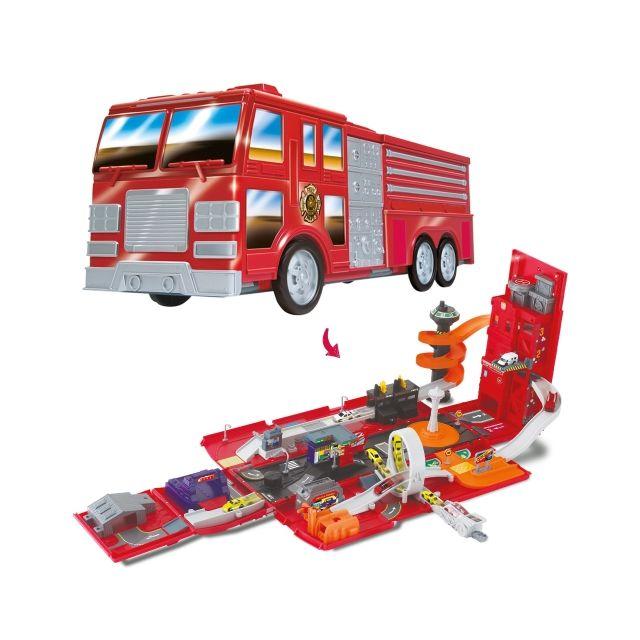 MICROFAST FIRE TRUCK CITY